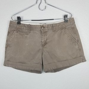 Old Navy low rise brown shorts